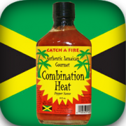 Combination Heat Hot Pepper Sauce from Catch A Fire Authentic Jamaican Gourmet
