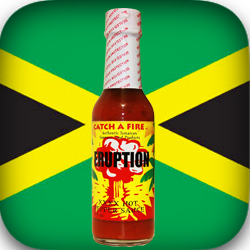 Eruption XXXX Hot Sauce from Catch a Fire Authentic Jamaican Gourmet