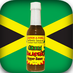 Catch a Fire Authentic Jamaican Gourmet Jalapeno Sauce