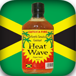 Heat Wave Pepper Sauce from Catch a Fire Authentic Jamaican Gourmet