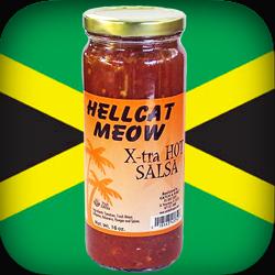 hellcat meow extra hot salsa