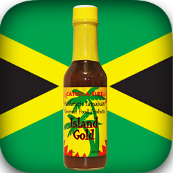 island gold pepper sauce from catch a fire