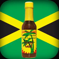 island gold pepper sauce from catch a fire