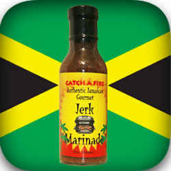 Jerk Marinade from catch a fire authentic gourmet