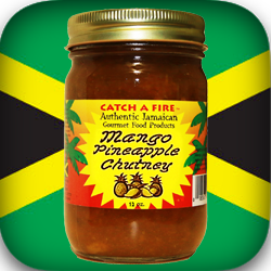 Mango Pineapple Chutney from catch a fire