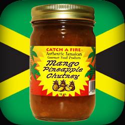 Mango Pineapple Chutney from catch a fire