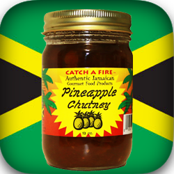 pineapple chutney from catch a fire