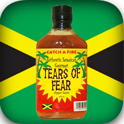tears of fear pepper sauce from catch a fire authentic jamaican gourmet